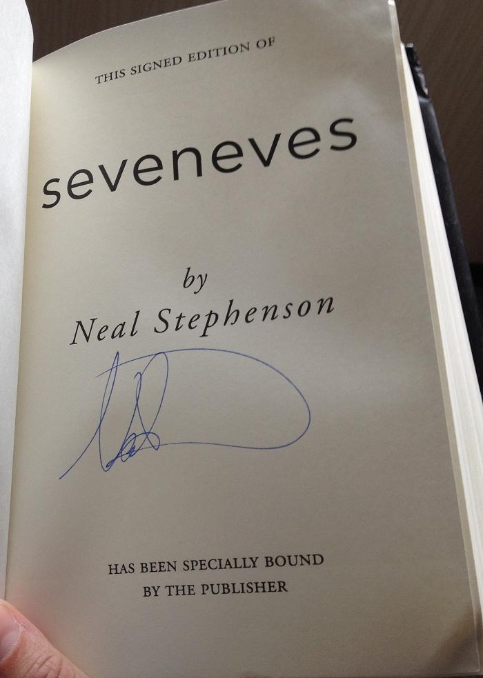 Seveneves 02 Neal's Signature