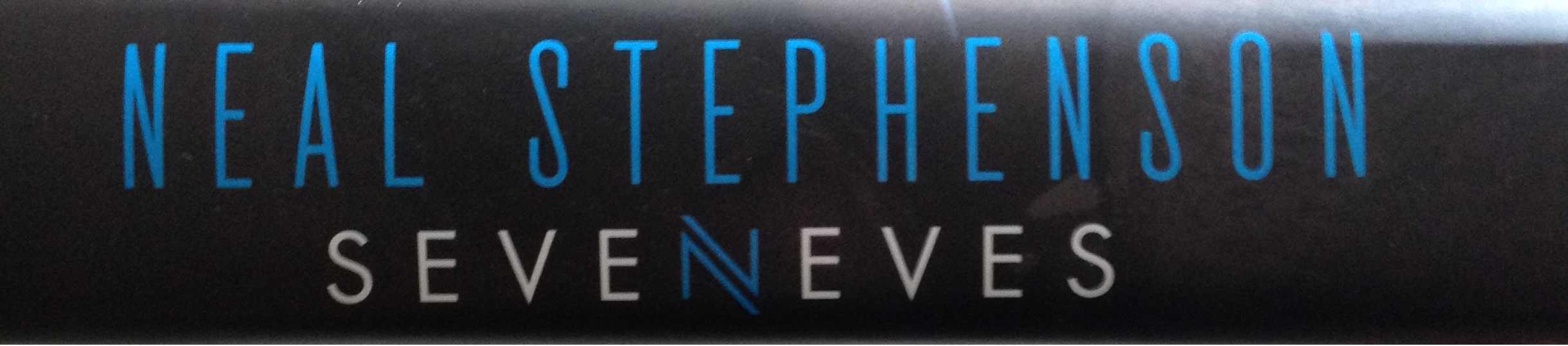 Seveneves 05 book spine