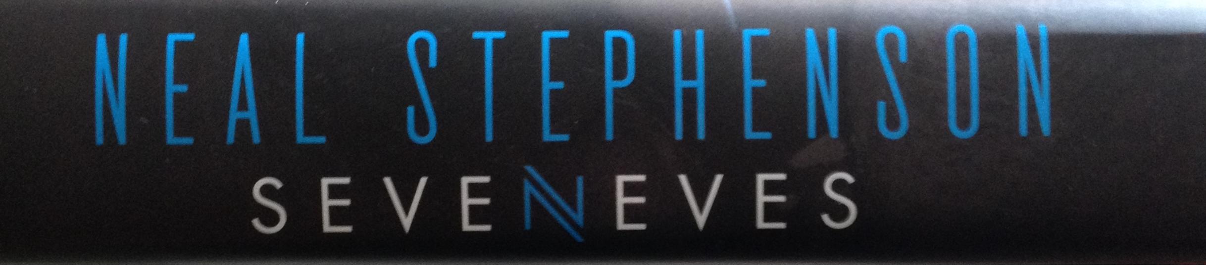 Seveneves 05 book spine