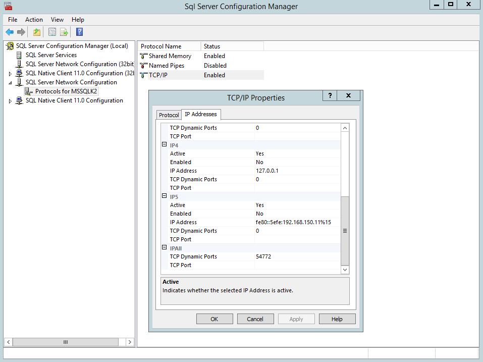 SQL Check Random Instance Port