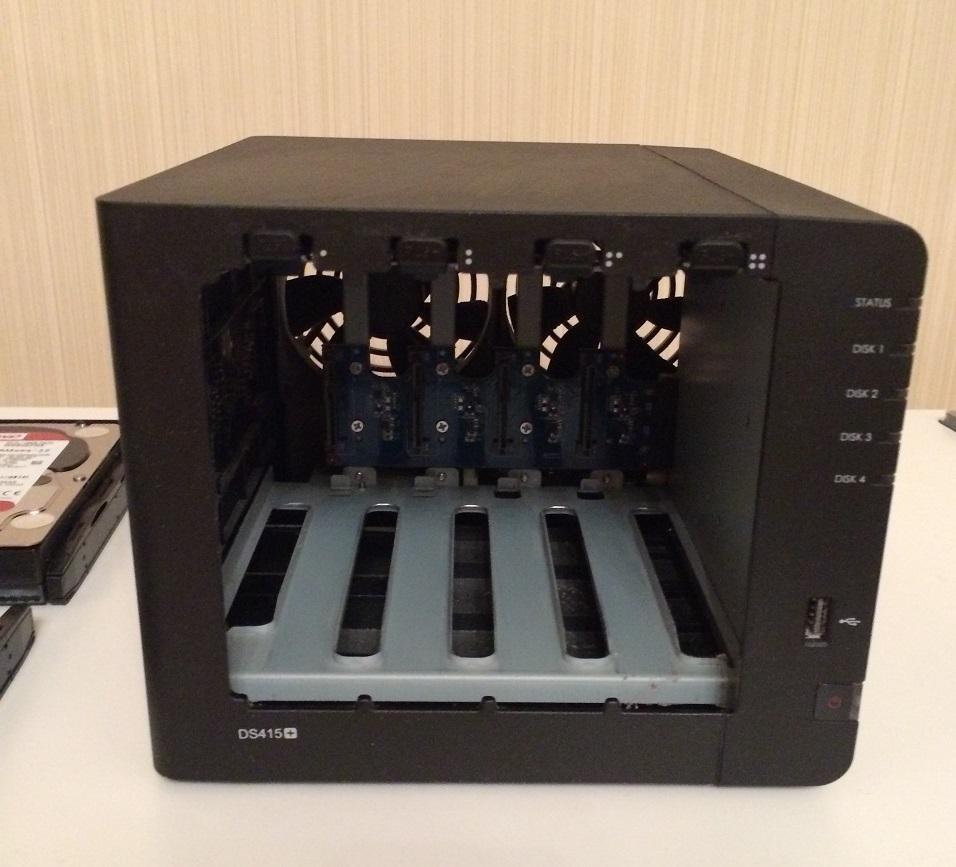 DS415+ RAM Upgarde 004