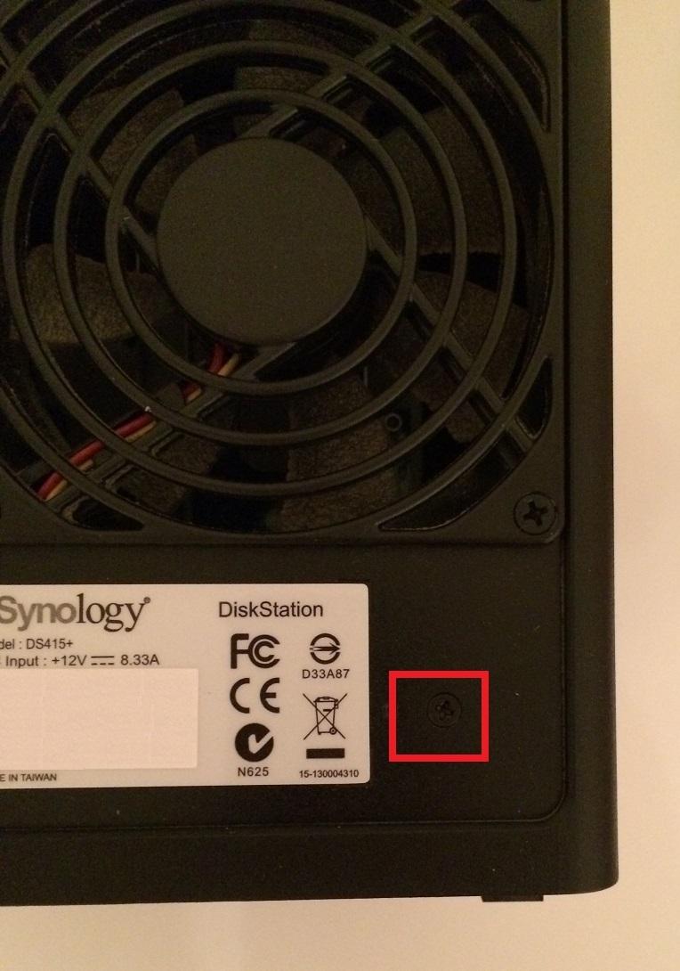 DS415+ RAM Upgarde 008