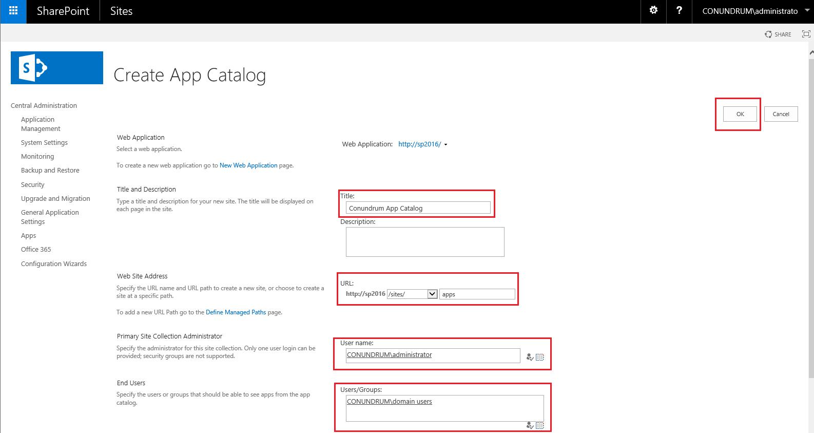 K2 - App Catalog creating App Catalog 3
