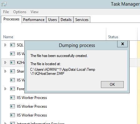 Error updating file k2 dll